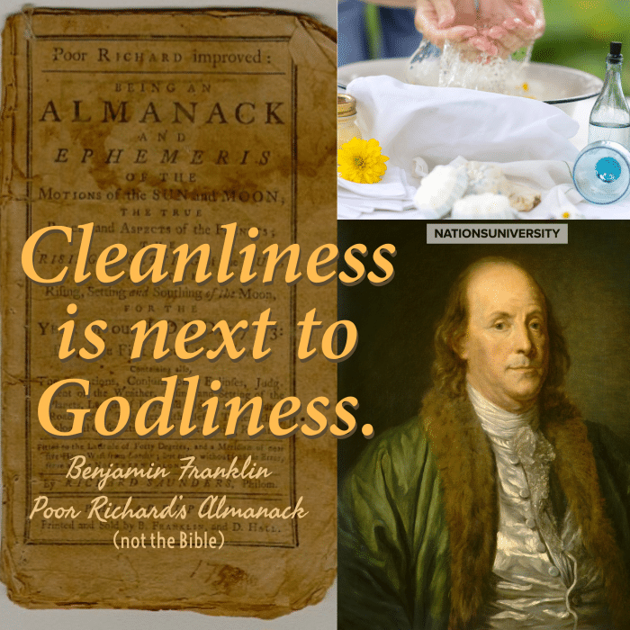 Unbiblical Statements Christians Believe – Cleanliness is Next to Godliness – Part 4
