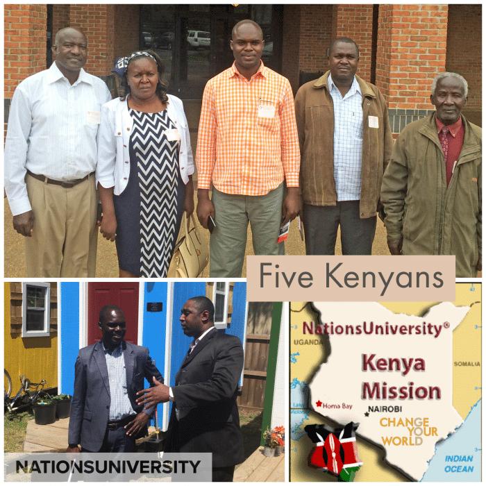 Five Kenyans