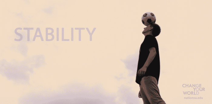 Weekly Reflection – Stability