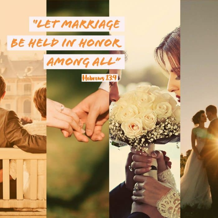 Weekly Reflection – Christian Marriage, a Template