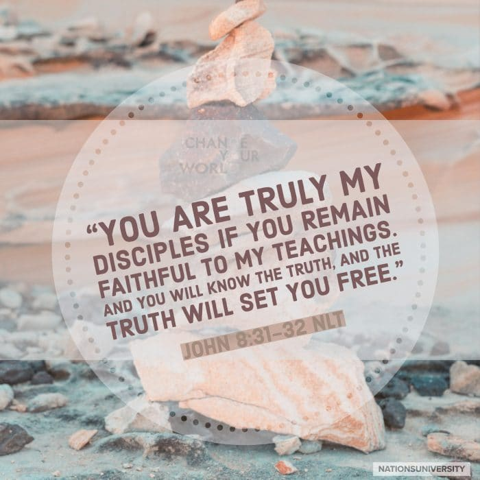 Weekly Reflection – TRUTH (John 8:31-36)