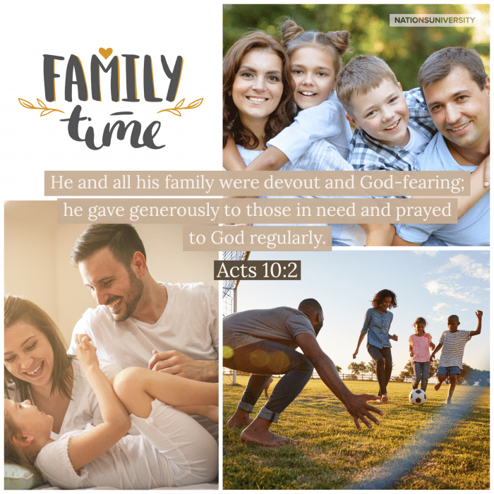 """Weekly Reflection – Family """"Moat"""""""