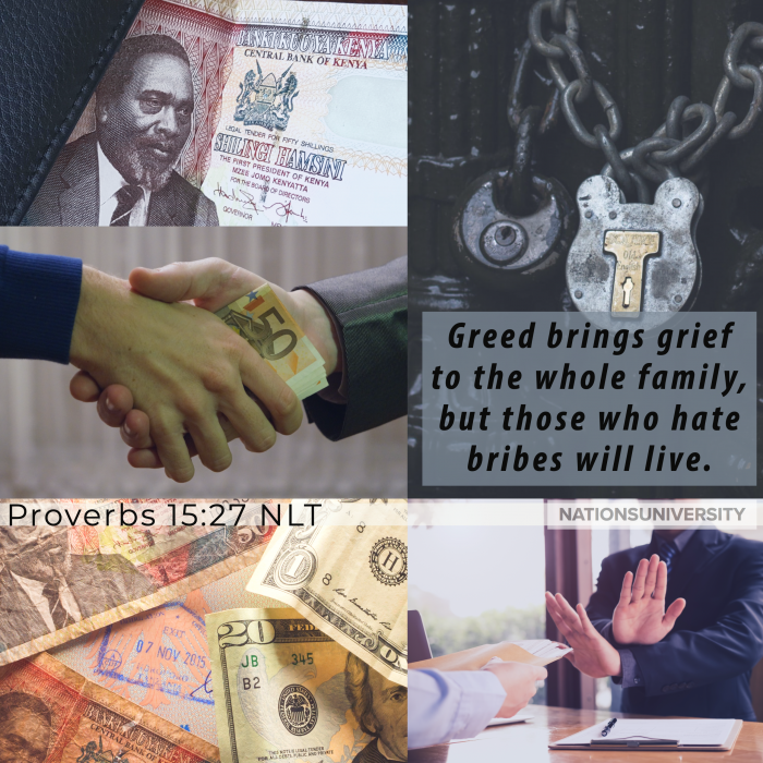 Poverty Does Not Cause Corruption