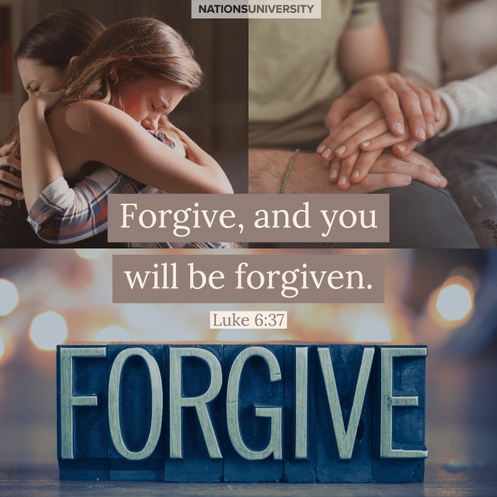 Weekly Reflection – Forgive As We Forgive