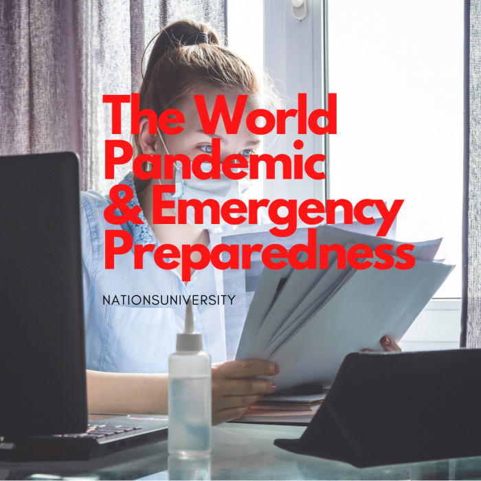 The World Pandemic and Emergency Preparedness