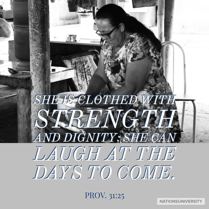 Weekly Reflection – God Speaks to Women Too