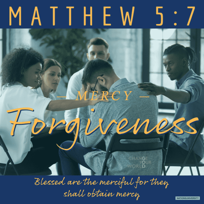 Weekly Reflection – Forgiveness