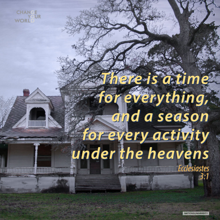 Weekly Reflection – The House on Highway 71