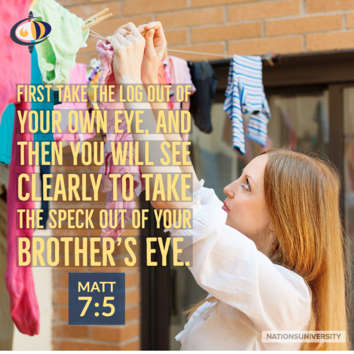 Weekly Reflection – Dirty Laundry